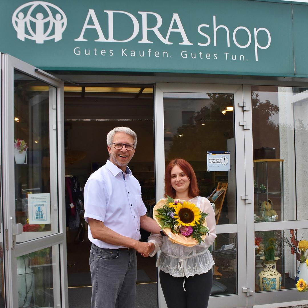 Neue Auszubildende bei der ADRA gGmbH